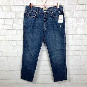 NWT Free People Slim Fit Boyfriend Jeans